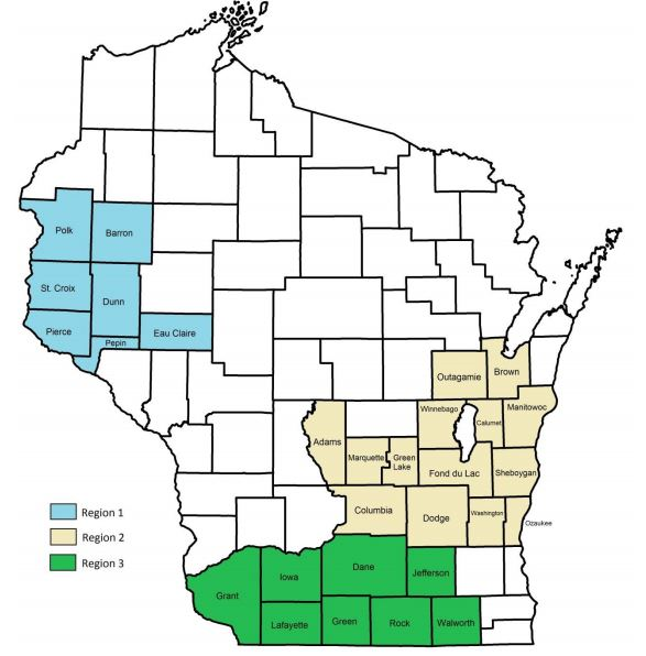 Public Hunting Land Wisconsin Map.Wisconsin Pheasant Hunting Forecast 2017