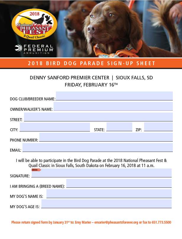 dog information sheet