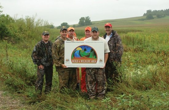 Iowa ranks near the bottom among states in public land ownership, so Pheasants Forever land acquisition projects there carry extra significance.