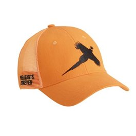 Flush Pheasant Orange Mesh Cap