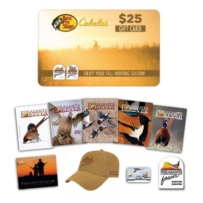 Rooster Booster Membership + $25 Bass Pro Shops & Cabela's Gift Card