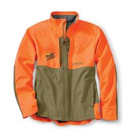 PF Orvis Upland Hunting Softshell Jacket - Tan/Blz