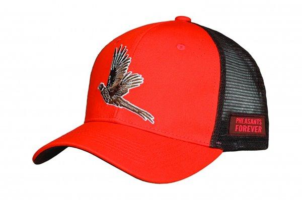 PF Booster Hat-Org/Brn-Meshback