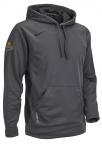 Nike Team Pullover Hoodie- Dark Grey