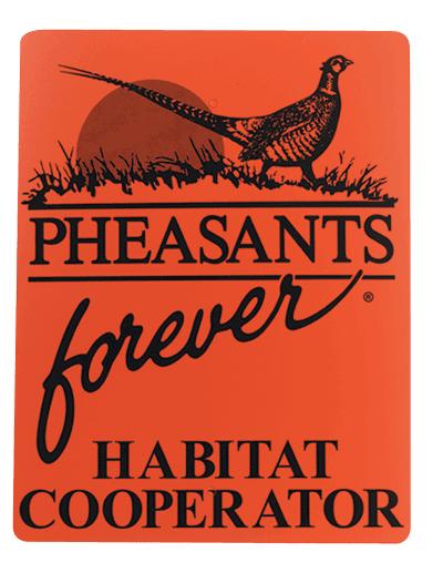 Pheasants Forever Habitat Signs - Habitat Cooperator Sign