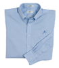Van Heusen Pinpoint Oxford - Blue Mist