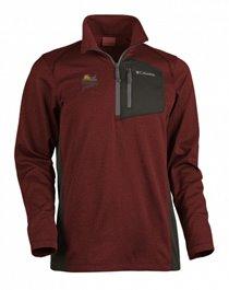 PF Columbia Jackson Creek 1/2 Zip Jacket - Red