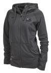 PF Women's Nike Full Zip Hoodie - Dark Gray