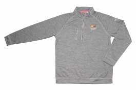 PF Puma PWRWARM Heather 1/4 Zip - Gray