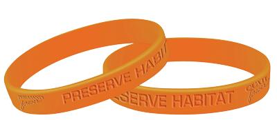 """""""Preserve Habitat"""" Wrist Band"""
