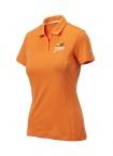 PF Women's Puma Pounce Polo - Vibrant Orange