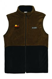 PF Columbia Basin Trail Fleece Vest - Black/Olive