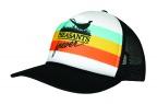 PF Retro Trucker Hat - Stripe/Blk Meshback