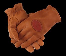 PF Deerskin Shooting Gloves - Unlined