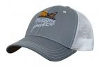 PF Grey Storm Mesh Back Hat - Gray/White