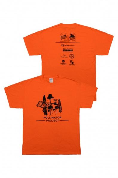 PF/QF  Pollinator T-Shirt - Orange