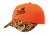 PF Orange Camo Brim Cap