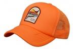 Blazing Sun Mesh Back Hat - Orange Foam