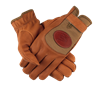 PF Deerskin Mesh Shooting Gloves