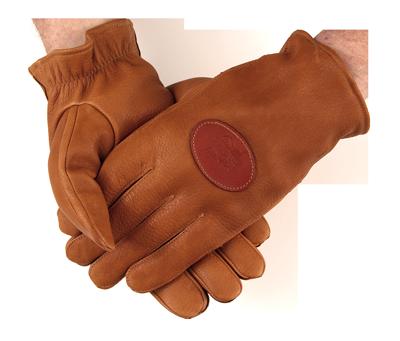 PF Deerskin Shooting Gloves - Lined