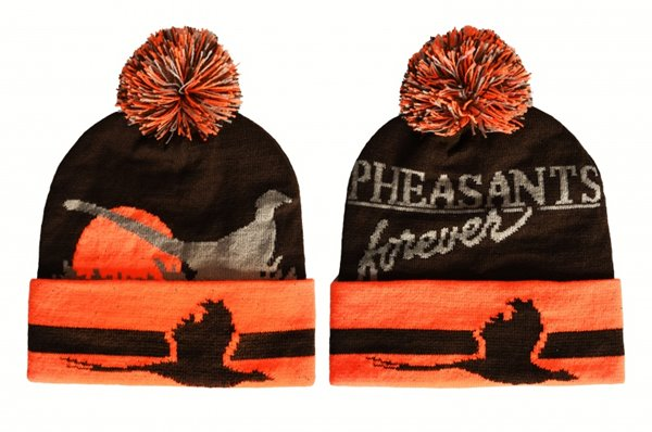 PF Sunrise Stocking Cap-Brown/Orange