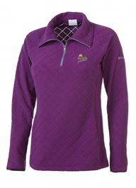 Columbia Women's Glacial Fleece III 1/2 Zip - Plum