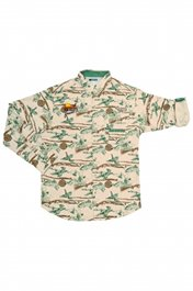 PF Columbia Sharptail Flannel - Fossil/Pheasant