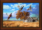 Framed Thunder Creek Canvas by David Maass