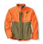 PF Orvis Upland Hunting Softshell Jacket - Tan/Blaze