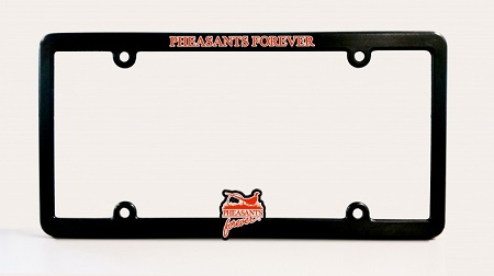 PF Universal License Plate Frame-Black