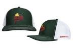PF Minnesota Hockey Cap-Dk Green/Wht- Meshback