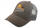 PF Steelhead Gray Meshback Cap