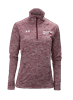 PF Under Armour Women's Twisted Tech 1/4 Zip Maroon
