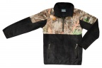 PF Columbia Youth PHG 1/2 Zip Overlay Fleece