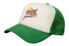 New Age Meshback Trucker Hat - White/Green