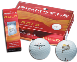 PF Pinnacle White Golf Balls