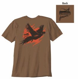 PF Painted T-Shirt - Brown Heather