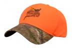 PF Pheasant Finder Hat - Blaze/Camo Brim