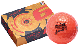 PF Volvik Orange Golf Balls