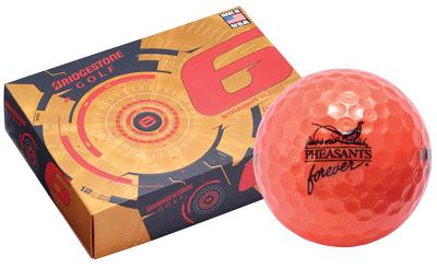 PF Orange Golf Balls-Sleeve/3