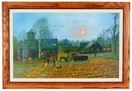 Framed Canvas - Memories Forever by David Barnhouse