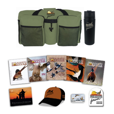 Rooster Booster Membership + PF Travel Bag and Tumbler