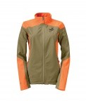 PF Orvis Womens Upland Softshell Jacket - Tan/Orange