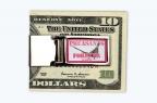 PF Retro Logo Money clip
