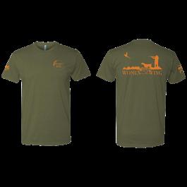 PF Women On The Wing T-Shirt - Green