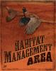 PF Habitat Management Graphic Sign